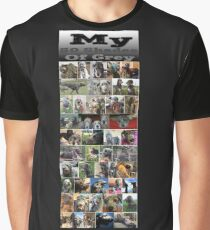 50 Shades of Wolfhound Graphic T-Shirt