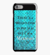 Im a mermaid iPhone Case/Skin