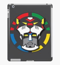 Voltron Face Stylized iPad Case/Skin
