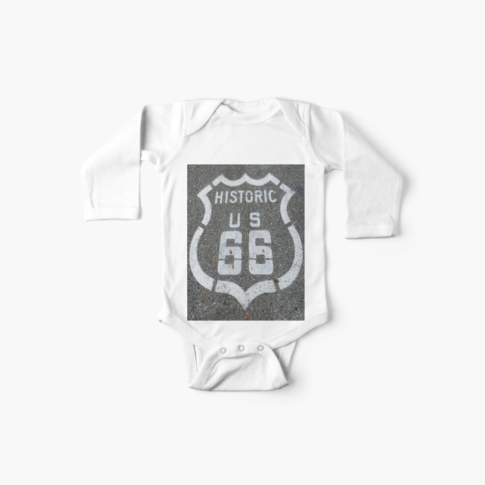 Route 66 indication, sign Baby One-Piece