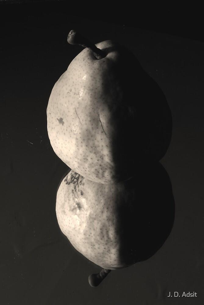 Half pear Rising by J. D. Adsit