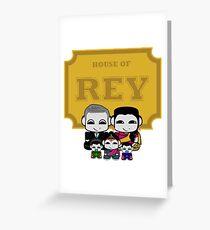 O'BABYBOT: House of Rey Family Greeting Card