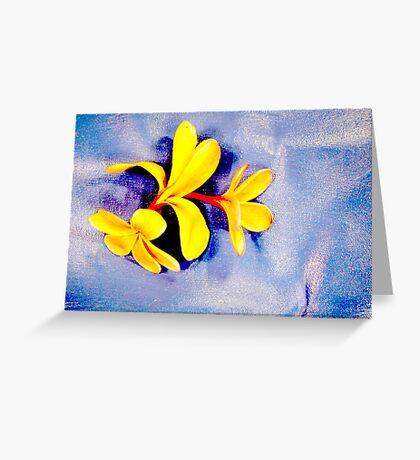 Frangipani #5 Greeting Card