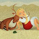 Birgit's first Christmas in Australia by Sonia Kretschmar