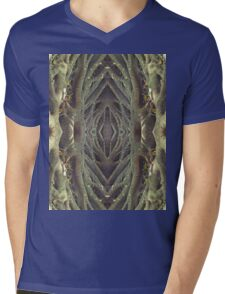 Entwined Enchanted Symmetry Mens V-Neck T-Shirt