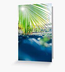Beach vibes Greeting Card