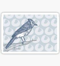The Bluest of Jays Sticker
