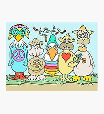 In the Land of Peace and Love Photographic Print