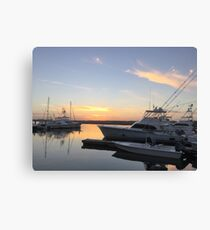 South Carolina Sunset Canvas Print
