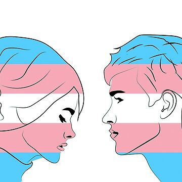 trans flag!! by cliffovevo