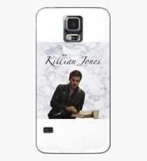 "Killian Jones ""Kapitän Hook"" Marmor Design Hülle & Klebefolie für Samsung Galaxy"