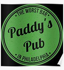 Paddy's Pub Poster