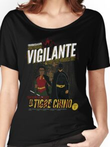 Greendale's Nocturnal Vigilante Women's Relaxed Fit T-Shirt