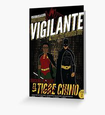 Greendale's Nocturnal Vigilante Greeting Card