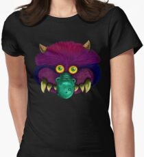 Monster (black background) Women's Fitted T-Shirt