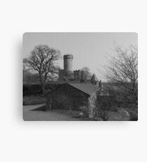 Burg Pyrmont Canvas Print