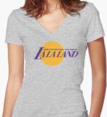 LA Dreamers Women's Fitted V-Neck T-Shirt