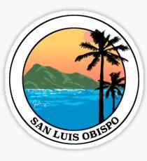 SLO Beach Sticker