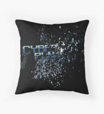 Cyberpunk - Derezzed Throw Pillow