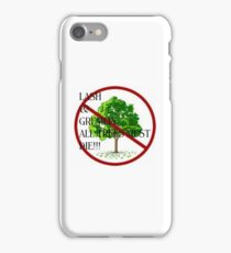 ALL TREES iPhone Case/Skin