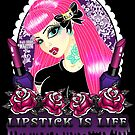 Lipstick is Life CUTIE by Miss Cherry  Martini