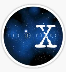 The X-Files-Galaxy Sticker