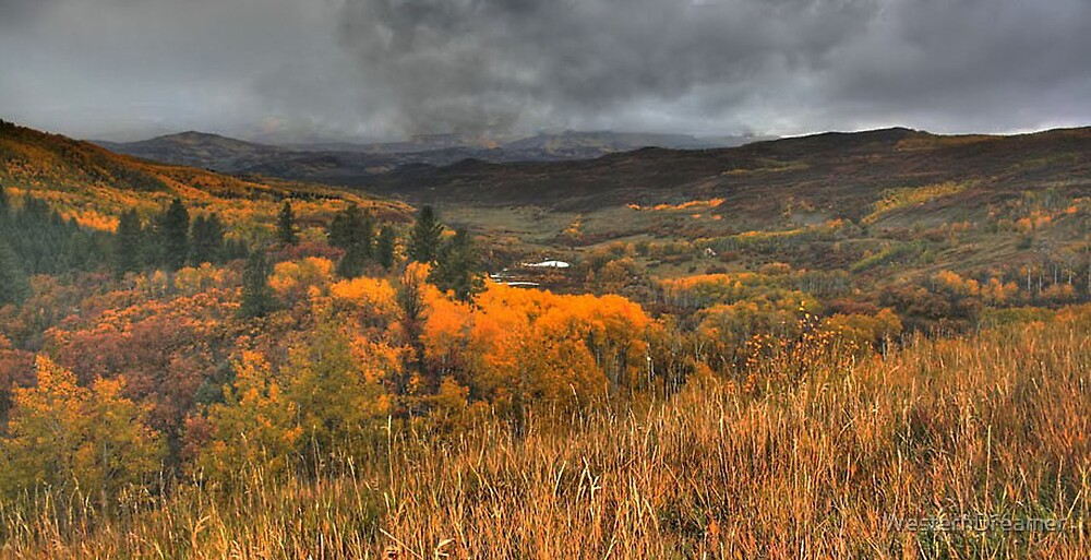 ~ When The Aspens Turn To Gold ~ by WesternDreamer
