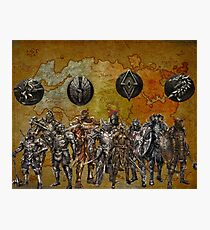 tamriel worriers Photographic Print