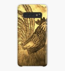 ROOSTER IN THE GRASS Case/Skin for Samsung Galaxy
