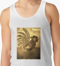 ROOSTER IN THE GRASS Tank Top