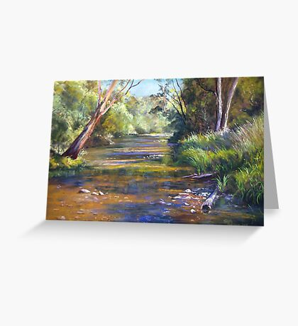 Jamieson River - Kevington Greeting Card