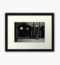 Malthouse Theatre Doors Framed Print