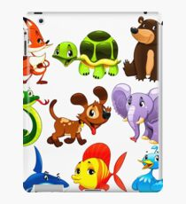 Coloured Animals Collection iPad Case/Skin