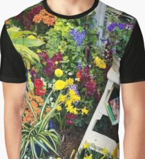 Always good to have a few flowers around the kitchen! Graphic T-Shirt