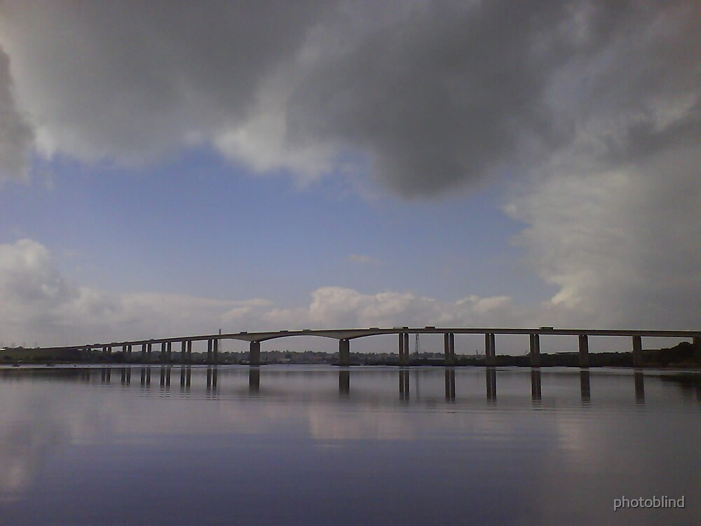 The River Orwell and bridge by photoblind