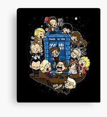 Let's Play Doctor Canvas Print