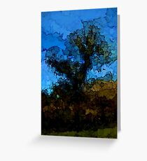 Tree under the Blue Sky Greeting Card