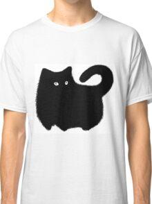 super black cat  Classic T-Shirt