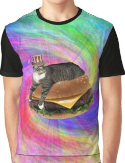 Lucy-Fur Burger Graphic T-Shirt