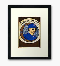Troy Tulowitzki - Art Nouveau (Updated) Framed Print