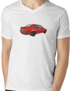 Alfa Romeo 75 - Italian Classic Mens V-Neck T-Shirt