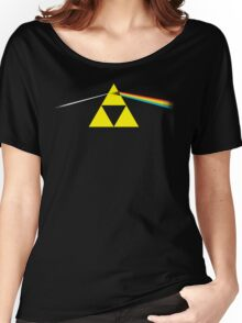 the dark side of the triforce Women's Relaxed Fit T-Shirt