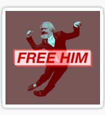 Free Him (Marx) Sticker