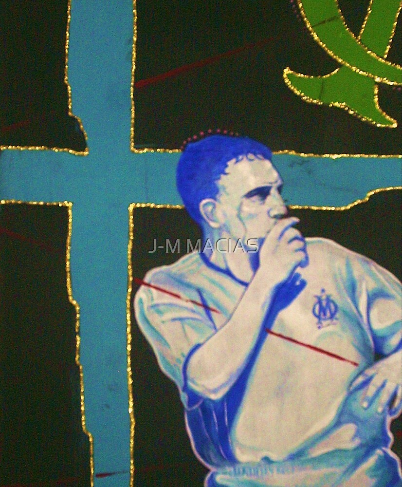 ribery football player marseille by J-M MACIAS