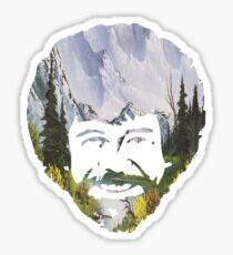 Bob Ross- happy little trees (CHECK DESCRIPTION) Sticker