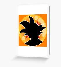 Dragon Ball Z™ Goku and the 4 Star Dragon Ball Greeting Card