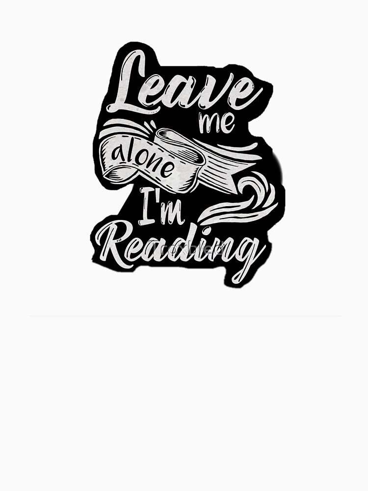 Leave me alone - I'm reading!  by Troxbled