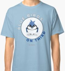 Blue Birds on Third Classic T-Shirt