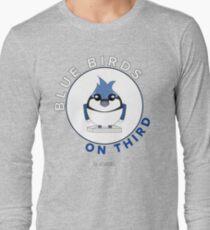 Blue Birds on Third Long Sleeve T-Shirt