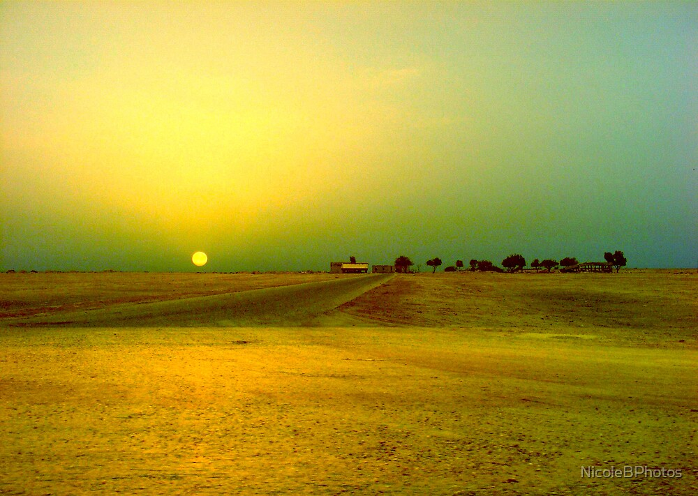 Desert sunrise, Failaka island Kuwait by NicoleBPhotos